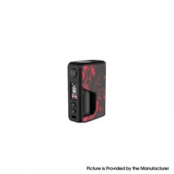 Authentic Vandy Vape Pulse V2 II 95W TC VW BF Squonk Squeeze Vape Box Mod - Flame Red Resin, 5~95W, 1 x 18650 / 20700 / 21700