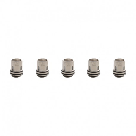 Authentic Augvape Intake Sub Ohm Tank Replacement Clapton Mesh Coil Heads - Silver, Kanthal & Nichrome, 0.2ohm (60~75W) (5 PCS)