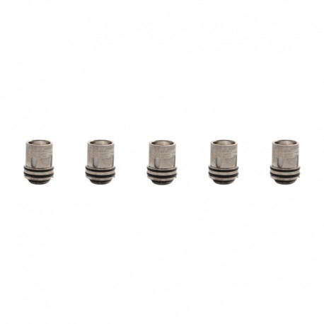 Authentic Augvape Intake Sub Ohm Tank Replacement Mesh Coil Heads - Silver, Kanthal, 0.15ohm (60~75W) (5 PCS)