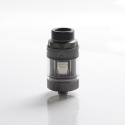 Authentic Augvape Intake Sub Ohm Tank Vape Atomizer - Matt Gunmetal, SS + Glass, 3.5ml / 5ml, 0.15ohm / 0.2ohm, 25mm Diameter