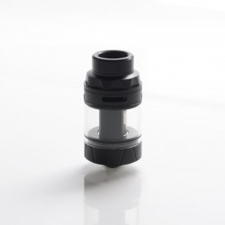 Authentic Augvape Intake Sub Ohm Tank Vape Atomizer - Matt Black, SS + Glass, 3.5ml / 5ml, 0.15ohm / 0.2ohm, 25mm Diameter