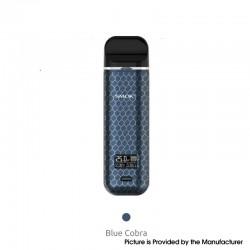 Authentic SMOKTech SMOK Novo X 25W 800mAh VW Pod System Vape Starter Kit - Blue Cobra, 1~25W, 2.0ml, 0.8ohm