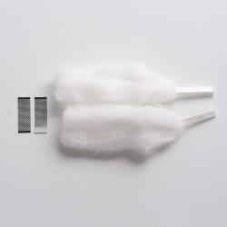Authentic GeekVape Zeus X Mesh RTA Replacement Micromesh KA1 Mesh Sheet - 2 x 0.2ohm Mesh + 2 x Cotton, 18 x 6.2 x 0.1mm