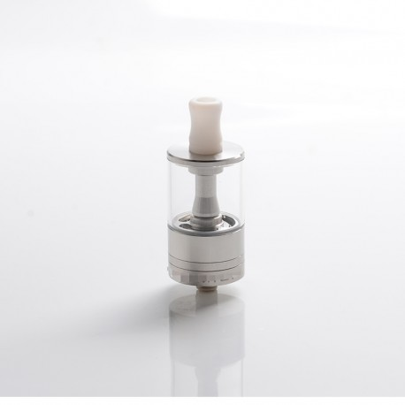 ShenRay Dvarw MTL FL Facelift Style RTA Rebuildable Tank Vape Atomizer - Silver, 5ml, 316 Stainless Steel, 22mm Diameter