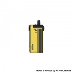 Authentic Vapefly TGO 70W 2300mAh VW Variable Wattage Pod System Vape Mod Kit - Yellow, Fingerprint, 5~70W, 4.5ml, 0.3 / 0.6ohm