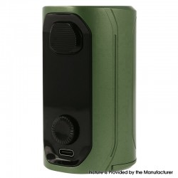 Authentic Augvape VX217 217W TC VV VW Variable Wattage Vape Box Mod - Green, 5~217W, 2 x 18650 / 20700 / 21700