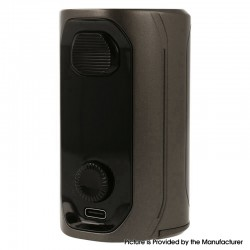 Authentic Augvape VX217 217W TC VV VW Variable Wattage Vape Box Mod - Grey, 5~217W, 2 x 18650 / 20700 / 21700