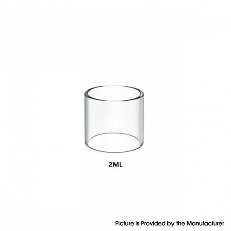 Authentic Damn Vape Wotan Vape Atomizer Replacement Straight Glass Tank Tube - Transparent, 2.0ml