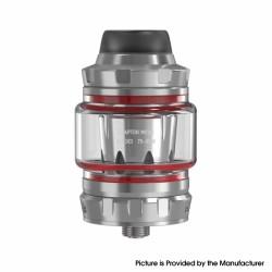 Authentic Damn Vape Wotan Mesh Sub Ohm Tank Vape Atomizer - Silver, 2.0 / 5.5ml, 0.3ohm, 26mm Diameter