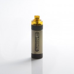 Authentic Asvape Hita 30W 1000mAh Mech Mod RBA Pod System Vape Starter Kit - Bronze, 3ml, 0.5ohm / 1.0ohm, 5~30W