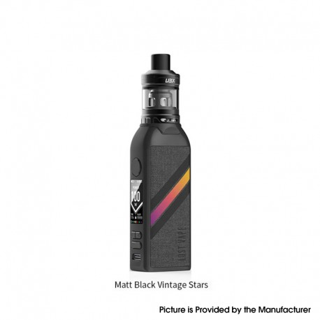 Authentic Lost Vape BTB 100W Box Mod + Ultra Boost X Tank Vape Starter kit - Matte Black, 5~100W, 1 x 18650, 4.0ml, 0.15ohm