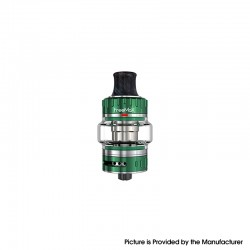 Authentic FreeMax Fireluke 22 Sub Ohm Tank Vape Atomizer Clearomizer - Green, 3.5ml, 0.5ohm, 22mm Diameter
