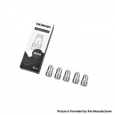 Authentic Hcigar VT INPOD 40W Pod Vape Kit Replacement Honeycomb Mesh Coil Head - 0.3ohm (5 PCS)