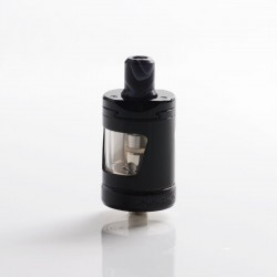 Innokin Zlide Sub Ohm Tank Atomizer Vape Clearomizer - Black, SS + Glass, 1.2ohm / 0.8ohm, 4.0ml, 24mm Diameter