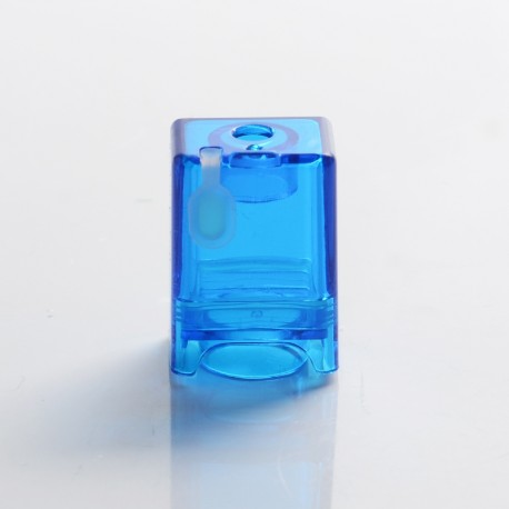 Authentic Vapeasy dotEasy Replacement Pod Tank for dotMod dotAIO Pod System - Translucent Blue, Acrylic, 2.0ml