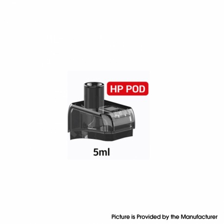 Authentic Artery NUGGET+ Pod System Replacement HP Pod Cartridge - Black, 5.0ml (1 PC)