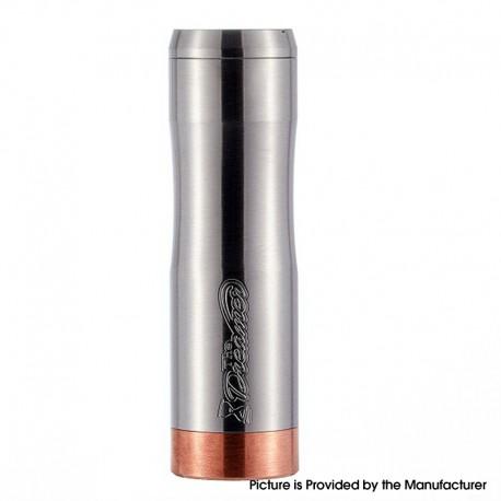 Authentic Timesvape Dreamer V1.5 Hybrid Mechanical Mech Vape Mod - Brushed Silver, Stainless Steel, 1 x 18650 / 20700 / 21700