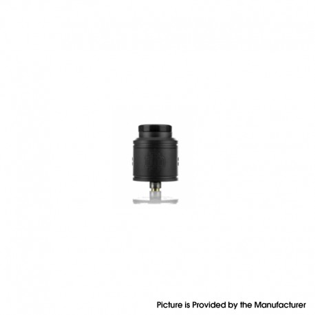 Authentic Augvape DRUGA 2 BF RDA Rebuildable Dripping Vape Atomizer - Black, Stainless Steel, 24mm Diameter