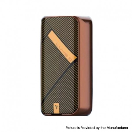 Authentic Vaporesso LUXE II 220W VW Variable Wattage Vape Box Mod - Bronze Stripe, 2 x 18650, 5~220W