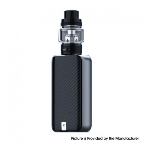 Authentic Vaporesso LUXE II 220W VW Box Mod Vape Kit with NRG-S Tank Atomizer - Black, 2 x 18650, 5~220W, 8.0ml