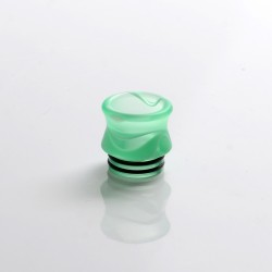 Replacement 810 Drip Tip for RDA / RTA / RDTA Sub Ohm Tank Vape Atomizer - Green, Resin, 15.6mm