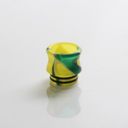 Replacement 810 Drip Tip for RDA / RTA / RDTA Sub Ohm Tank Vape Atomizer - Yellow, Resin, 15.6mm