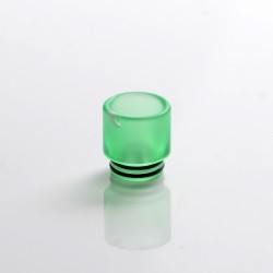 Replacement 810 Drip Tip for RDA / RTA / RDTA Sub Ohm Tank Vape Atomizer - Green, Resin, 17mm
