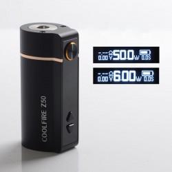 Authentic Innokin Coolfire Z50 50W 2100mAh Variable Wattage Vape Box Mod - Black, Zinc Alloy, 6~50W