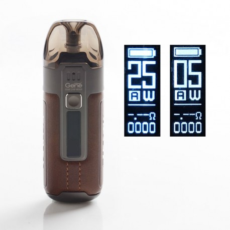 Authentic VOOPOO Argus Air 25W 900mAh VW Variable Wattage Pod System Vape Starter Kit - Vintage Brown, 5~25W, 3.8ml