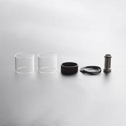 Authentic Steam Crave Aromamizer Ragnar RDTA Replacement 25ml Glass Tank tube + Chimney Conversion Kit - Transparent (2 PCS)