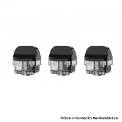 Authentic SMOK Nord X Pod System Replacement Empty RPM 2 Pod Cartridge - 6.0ml, Compatible with RPM 2 Mesh 0.16ohm Coil (3 PCS)