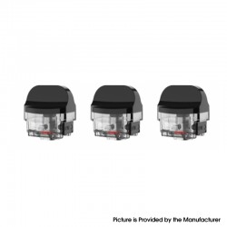 Authentic SMOKTech SMOK Nord X Pod System Replacement Empty RPM Pod Cartridge - 6.0ml, Compatible with All RPM Coil (3 PCS)