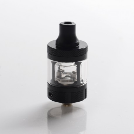 Authentic Blitz Ivo RTA Rebuildable Tank Atomizer - Black, 2.0ml, 22mm Diameter