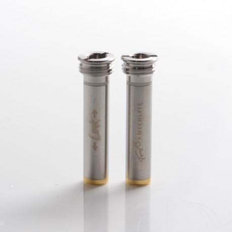 Authentic TonyB x MECHLYFE Link 510 Adaptor Connector for BB 60W / 70W / Billet Box Mod Vape Kit - Silver, SS (2 PCS)