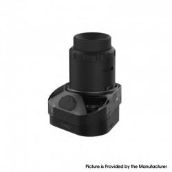 Authentic Rincoe Manto Max 228W Replacement RDTA Vape Pod Cartridge - Black, 6.0ml