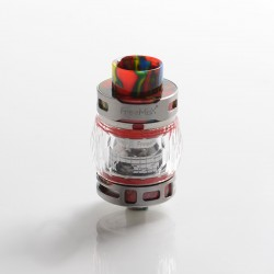 Authentic FreeMax Fireluke 3 Sub Ohm Tank Clearomizer Vape Atomizer - Red, SS + Resin, 0.2ohm, 5ml, 28.2mm Diameter