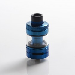 Authentic Hellvape & Wirice Launcher Sub Ohm Tank Clearomizer Vape Atomizer - Blue, 4.0 / 5.0ml, 0.15 / 0.21ohm, 25mm