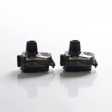 Authentic GeekVape Aegis Boost Plus Mod Pod System Vape Kit Replacement Empty Pod Cartridge - Black, 5.5ml (2 PCS)