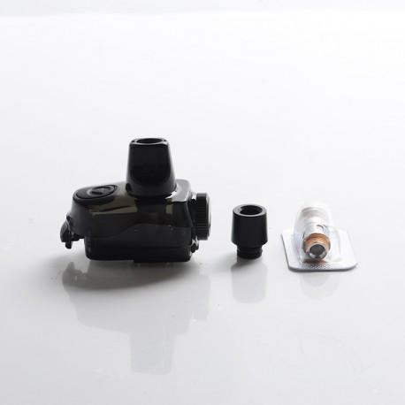 Authentic GeekVape Aegis Boost Plus Mod Pod System Vape Kit Replacement Cartridge w/ 0.4ohm & 0.6ohm Coils - Black, 5.5ml (1 PC)