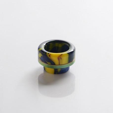 Authentic Wotofo 810 Drip Tip for Profile RDTA Vape Atomizer - Rainbow, Resin
