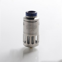 Authentic Wotofo Profile RDTA / RDA Rebuildable Dripping Tank Vape Atomizer w/ BF Pin - Silver, 6.2ml, 25mm Diameter