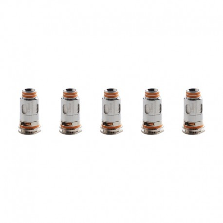 Authentic GeekVape Aegis Replacement Coil for Aegis Boost Kit / Pod - Silver, 0.4ohm (5 PCS)
