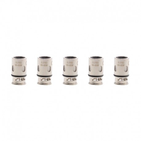 Authentic Artery Nugget GT 200W VW Box Mod Pod System Replacement XP Coil Head - 0.15ohm (60~80W) (5 PC)
