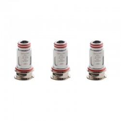 Authentic SMOKTech SMOK RPM160 Mod Pod Vape Kit / Cartridge Replacement Nichel-chrome Mesh Coil Head - Silver, 0.15ohm (3 PCS)