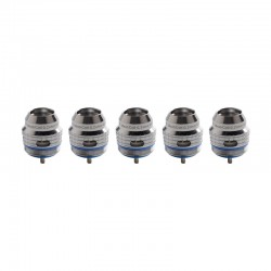 Authentic FreeMax 904L X2 Mesh Coil Head for Fireluke 3 Sub Ohm Tank Vape Atomizer - 0.2ohm (40~80W) (5 PCS)