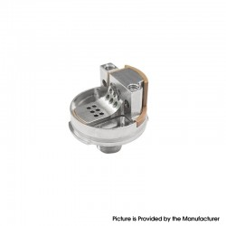 Authentic Steam Crave Single Coil Deck for Aromamizer Supreme V3 RDTA Vape Atomizer - Silver