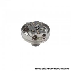 Authentic Steam Crave Postless Deck for Aromamizer Supreme V3 RDTA Vape Atomizer - Silver