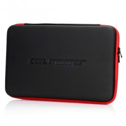 Authentic Coil Master Multi-Functional Convenient Storage Bag - Black, PU Leather, 220 x 330 x 48mm