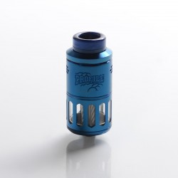 Authentic Wotofo Profile RDTA / RDA Rebuildable Dripping Tank Vape Atomizer w/ BF Pin - Blue, 6.2ml, 25mm Diameter