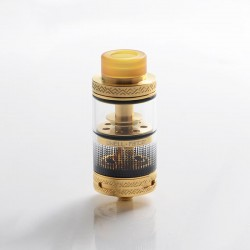 Authentic Uwell Fancier RTA / RDA Rebuildable Dripping Tank Atomizer - Gold, Stainless Steel, 4ml, 24mm Diameter